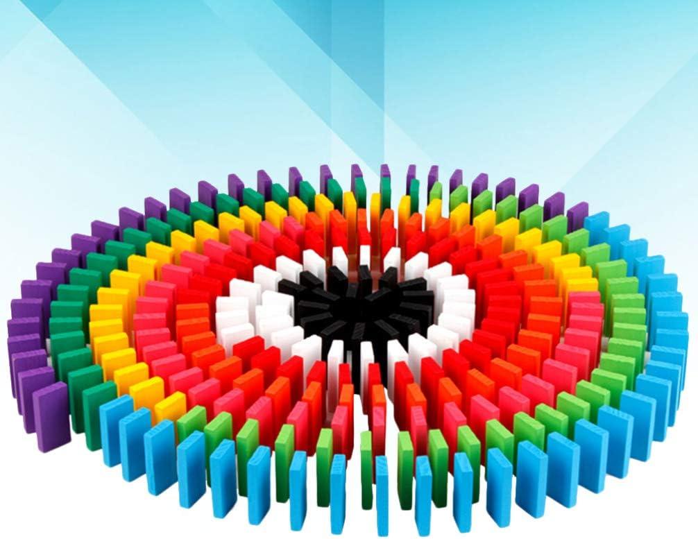 conjunto de 120 piezas domin/ó a granel domin/ó palos de construcci/ón Bloques de juguete SUPVOX Domin/ó domin/ó para ni/ños