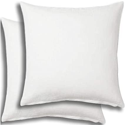 36 X 36 Pillow Insert.Set Of 2 Pillow Insert 36x36 Decorative Throw Pillow Inserts Euro Sham Stuffer For Sofa Bed Couch Square White Form 2 Pack Hypoallergenic