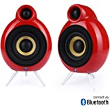 Scandyna Micro PodSpeakers for Bluetooth Enabled iPhone - Red