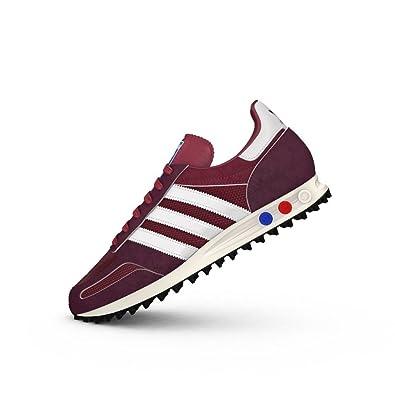 quality design 553fb 0352f adidas Mens Originals Mens LA Trainer OG Trainers in Burgundy - UK 13.5