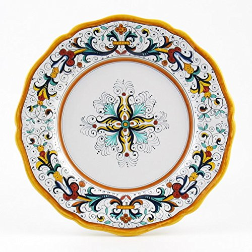 Italian Ceramic Dinner Plate Scallop Rim Ricco Deruta - Handmade in Deruta  sc 1 st  The Perfect Gift Store ? Perfect Gift Store & Deruta Italian Hand Painted Ceramics - Maiolica or Majolica