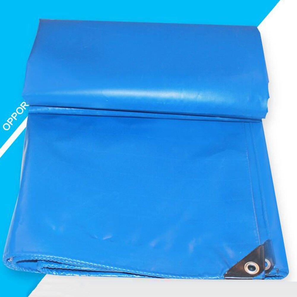 AJZGF Im Freien LKW-Regenwasserschutzplanenladung staubdichtes windundurchlässiges Hallengewebe Hochtemperaturanti-Altern, blau (Farbe   (Farbe  Blau, größe   5X6M) f181b7