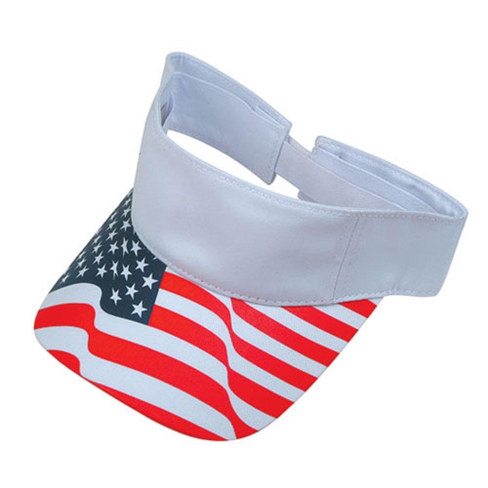 ImpecGear 2 Packs USA Flag Patriotic Baseball Cap/Hat (2 Pack for Price of 1)