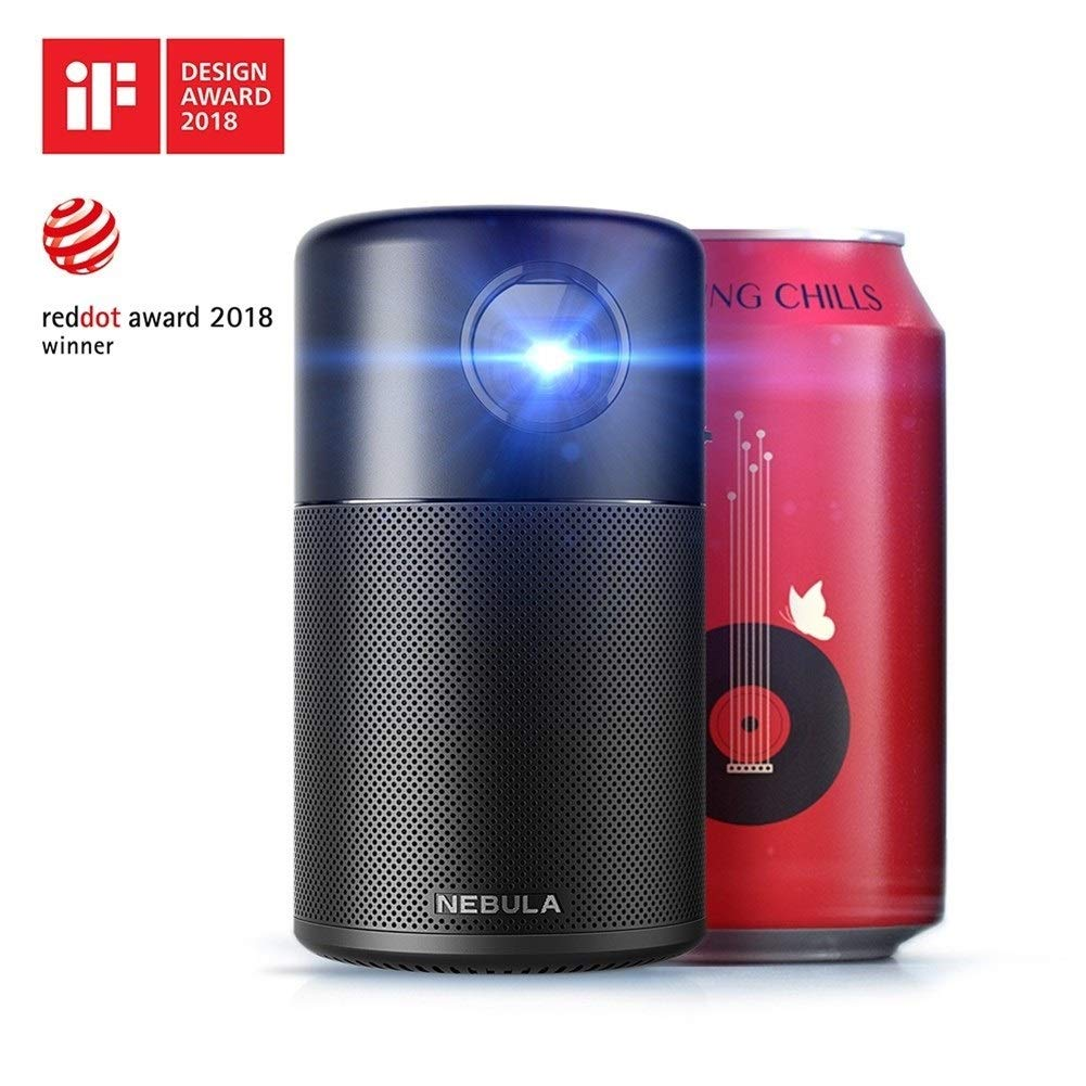 HD Nebula Capsule Smart Portable Wi-Fi Mini proyector Pocket ...