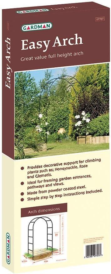Gardman Easy - Arco para enredaderas (200 x 140 cm): Amazon.es: Jardín