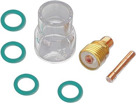 Ersatz WIG Schweißen Verbrauchsmaterial Körper Stubby Gaslinse Praktisch