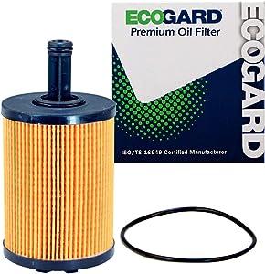 ECOGARD X11578 Premium Cartridge Engine Oil Filter for Conventional Oil Fits Alfa Romeo Giulia 2017-2019, Stelvio 2018-2018