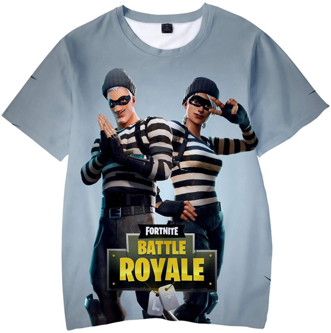 Bettydom garçon T-Shirt Special thème Jeu vidéo Fortnite caractère 3D imprimé Fans Aime