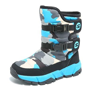 0db56454609ce  ZXCP  スノーシューズ ブーツ 防寒靴 キッズ ジュニア スノーブーツ ガールズ ボーイズ 防寒 防滑