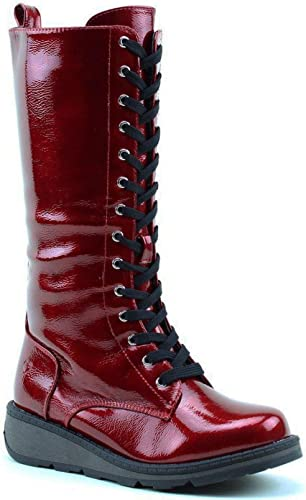 Heavenly Feet - Maze - Cherry Patent