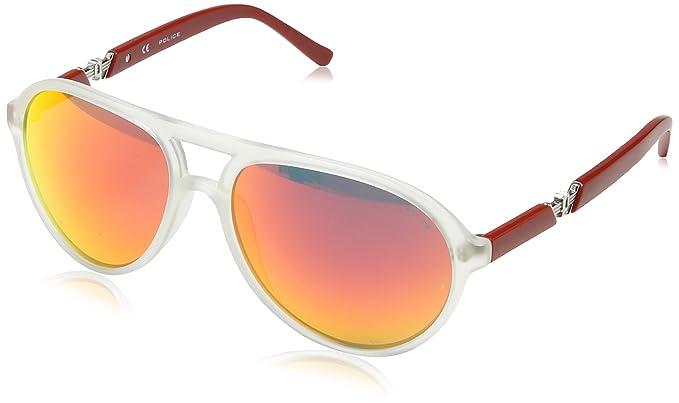Police - Gafas de sol Ovaladas S1798 Drift 2, MATT CRYSTAL ...
