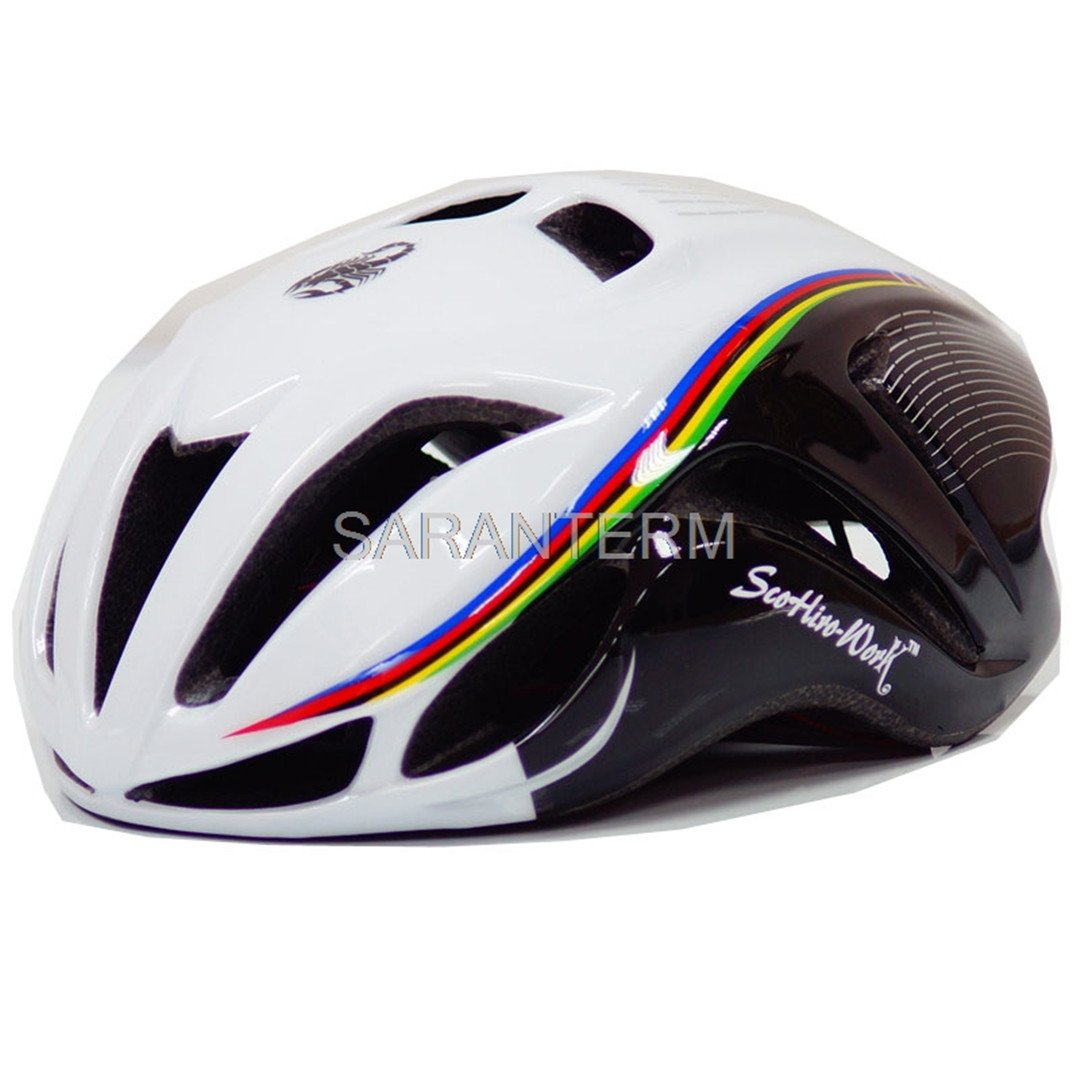 Amazon.com : Mens Bicycle Cycling Helmet Cover Cascos Ciclismo Mtb Capaceta Bicicleta Road Bike Integrall Casco Bici SW blk red L : Sports & Outdoors