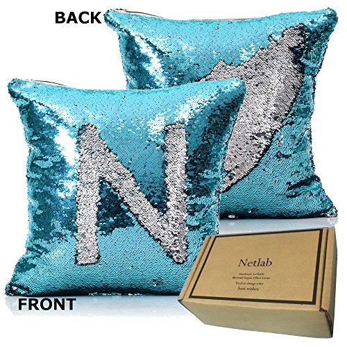 Double face Sequins Mermaid Luxurious Turquoise product image