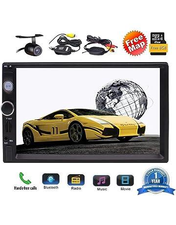 7 pulgadas de pantalla táctil digital MP5 GPS Dash SWC FM navegación electrónica estéreo del coche