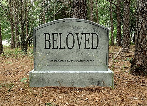 Evil Soul Studios BELOVED Tombstone Halloween Prop Decoration
