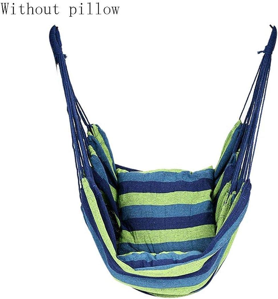 Disanot Canvas Swing Chair Hanging Rope Chair Garden Indoor Outdoor Hammocks