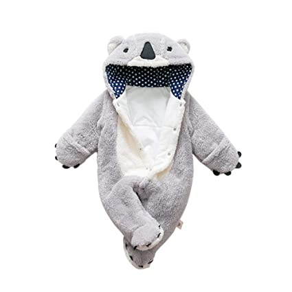 per Rompers Bebés Recién Nacidos Pijamas Bebés de Una Pieza Saco de Dormir Infantil Mamelucos Invierno