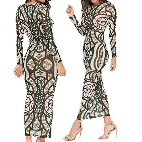mz-sexy-digital-print-elastic-mesh-ankle-length-long-party-dress-for-women-s