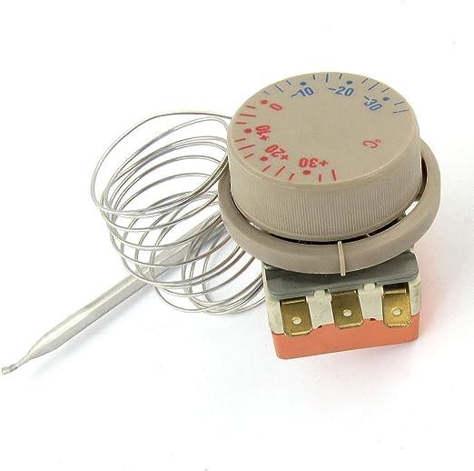Congelador ajustable reloj -30 a 30 grados Celsius capilar ...