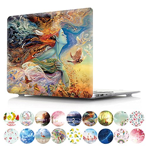 PapyHall Painting Plastic Pattern Hard Case for Old Macbook Pro 15