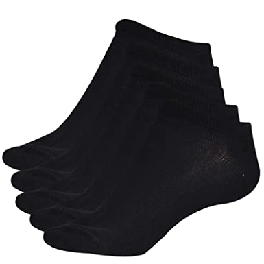 c014f1db9b9f Skechers Ladies No Show Trainer Liner Socks 5 Pairs  Amazon.co.uk  Clothing