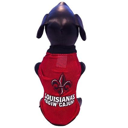 Amazon.com   NCAA Louisiana Lafayette Ragin  Cajuns Athletic Mesh ... b8550e178