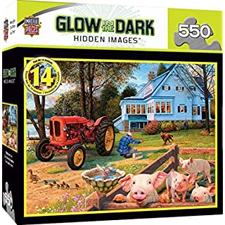 MasterPieces Hidden Images Glow in the Dark Jigsaw Puzzle, Welcome Home, Featuring Art by Steve Read, 550 Pieces