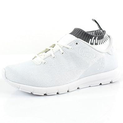 Mens Ewing Athletics Patrick Ewing SPEEDWEAVE White Black Gum Basketball Shoes