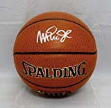 Magic Johnson Autographed Official NBA Spalding Basketball- JSA Authenticated