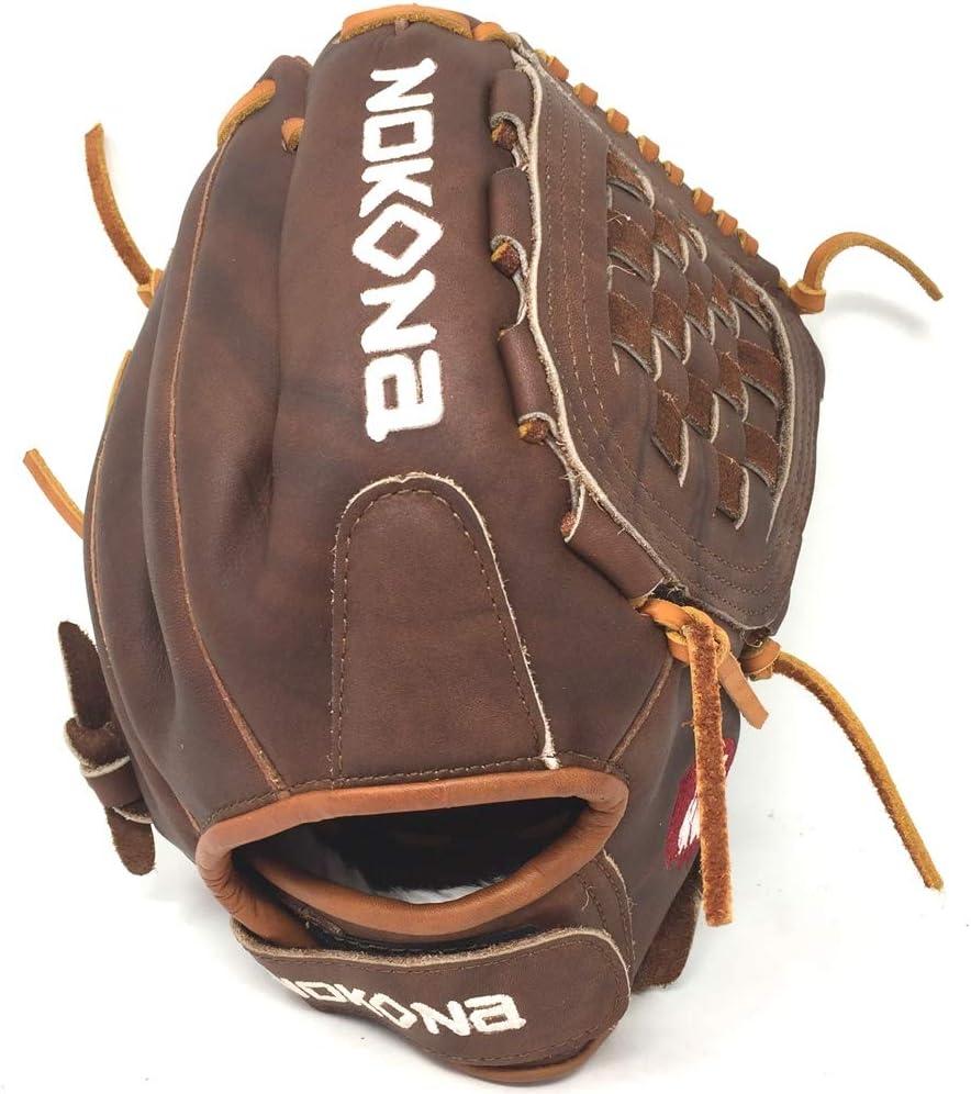 Nokona Walnut Fast Pitch Softball Glove 12 Inch Right Hand Throw