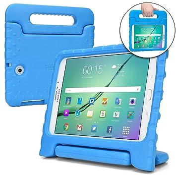 Funda para Samsung Galaxy Tab S2 9.7, [Asa de Gran tamaño 2 en 1: para Llevar y como Soporte] Cooper Dynamo para niños Extra Resistente a Prueba de ...
