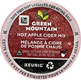 Green Mountain Hot Apple Cider single serve K-Cup pods for Keurig brewers, 24 Count