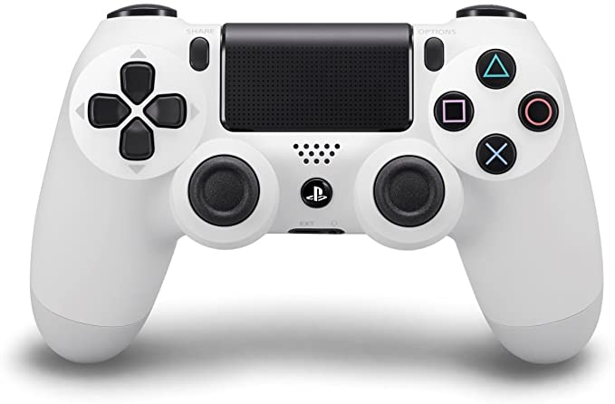 Sony - Mando Dualshock 4, Color Blanco (PS4): Amazon.es: Videojuegos