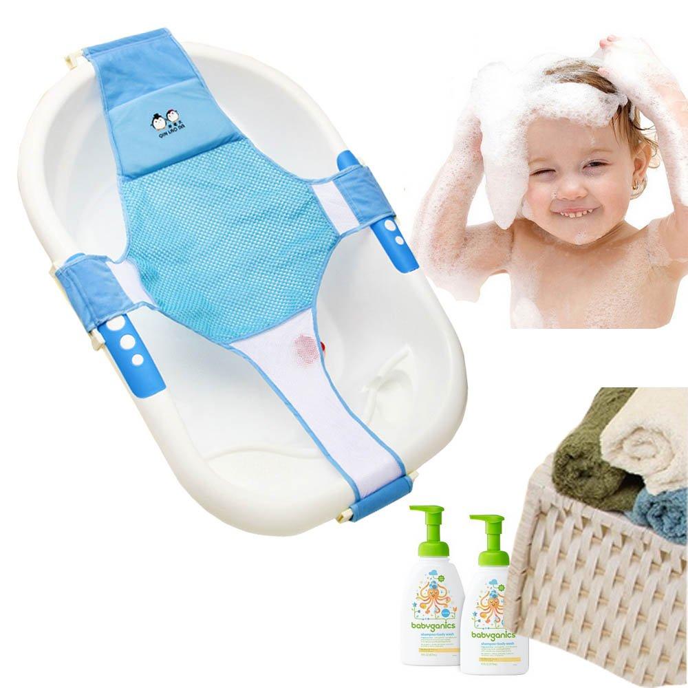 Amazon Com Stillcool Infant Baby Bath Sling Shower Mesh