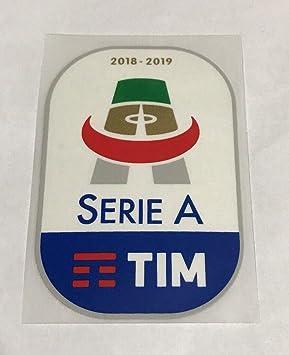 Parche de fútbol oficial de la serie A TIM 2018-2019 de la Liga Italiana de fútbol Toppa: Amazon.es: Juguetes y juegos