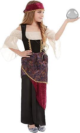 Disfraz de guerrera de Halloween para niña, Vestido con Cinta para ...