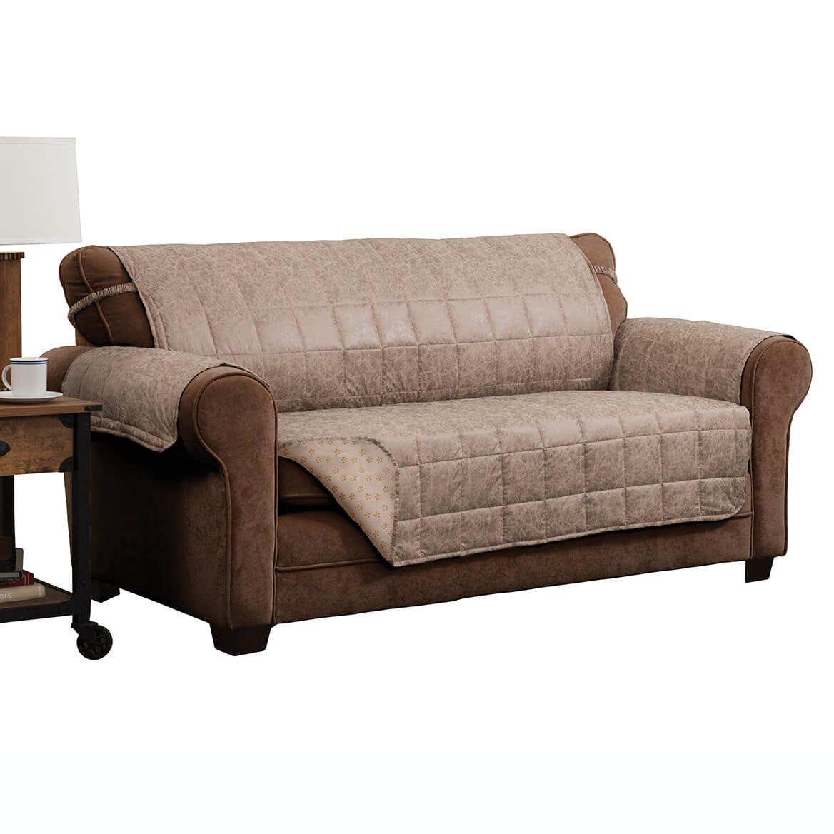 Amazon.com: Miles Kimball Brentwood XL Sofa Protector: Home ...