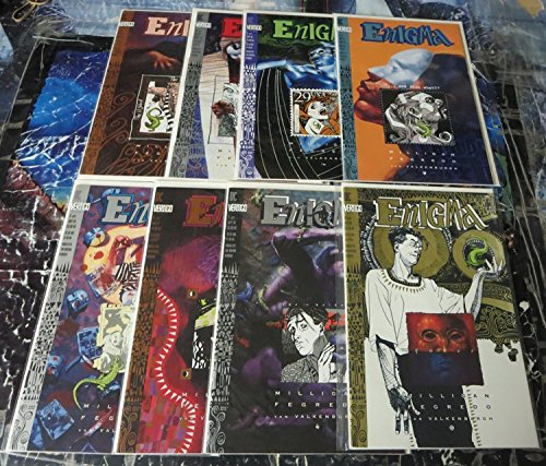 ENIGMA (1993 VERTIGO) 1-8 MILLIGAN/FEGREDO;THE POST MOD