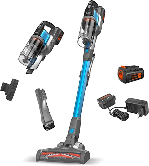 BLACK+DECKER BDPSE3615-QW - Aspirador de escoba sin cable Power ...