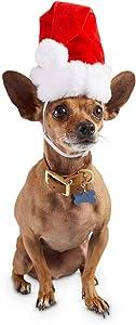 Holiday Tails Santa's Magic Dog Hat, Large/X-Large