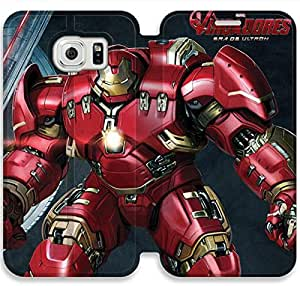 Premium Flip Ultra Slim Avengers Age Of Ultron-14 iPhone Samsung Galaxy S6 Edge Leather Flip Case