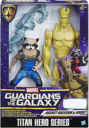 - Marvel Guardians of the Galaxy Titan Hero Rocket Raccoon and Groot Exclusive Figure Set by GuardiansoftheGalaxy