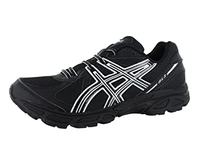 Asics - Mens Running Gls (4E) Shoes In Black/Onyx/White,