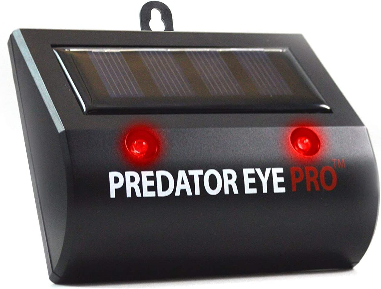 Comforday Cat Predator Eye Pro Night Solar Animal Repellent Outdoor Waterproof Application in Yard, Lawn, Garden, Park and Farm, Black