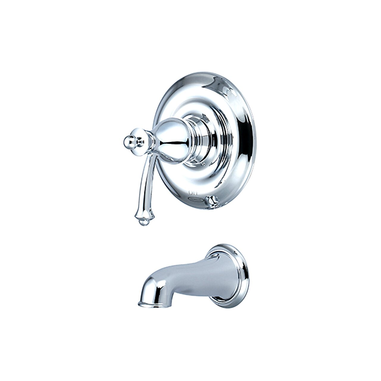 Pioneer 4BL200T-BN Single Handle Tub Trim Set PVD Brushed Nickel Finish