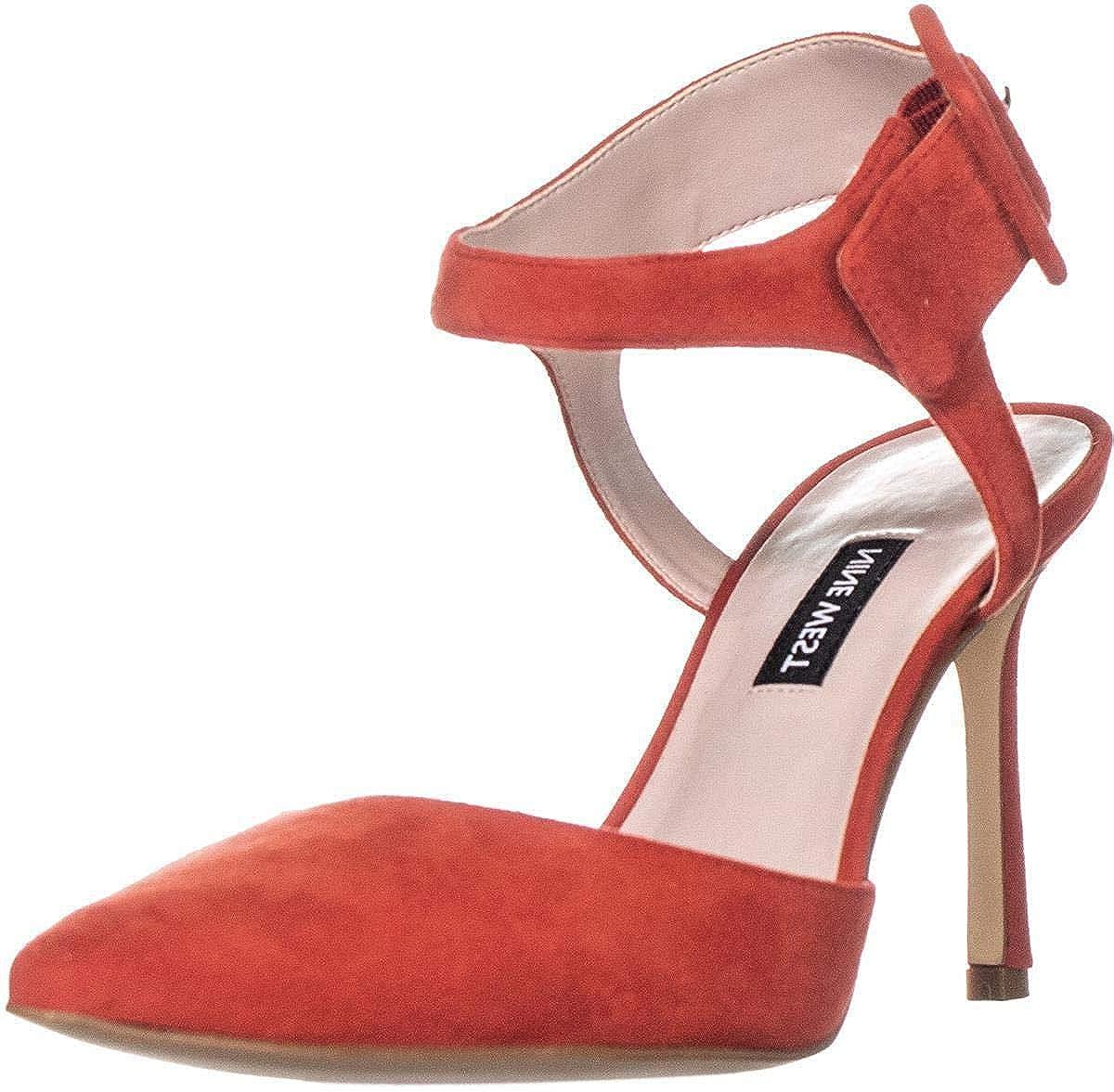 Womens Elisabeti Leather Pointed Toe