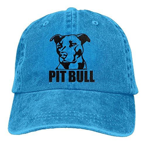 Gorgeously Proud Pit Bull Denim Baseball Caps Hat Adjustable Cotton Sport Strap Cap For Men Women