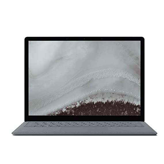 b96de42dfd6 Microsoft Surface Laptop - Ordenador portátil Ultrafino táctil 13.5''  (Intel Core i5-7200U, 8GB RAM, 128GB SSD, Intel Graphics, Windows 10) Plata  - Teclado ...
