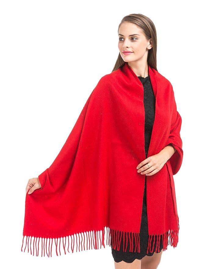 时尚又保暖!Saferin 羊绒羊毛披肩75% OFF!