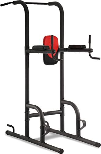 Durable Multi-Function Body Power Tower w Dip Station Pull Up Bar